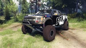 ford prerunner truck ford raptor pre runner v1 1 fox for spin tires