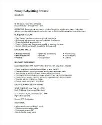 sample resume for babysitter medical billing cover letter sample