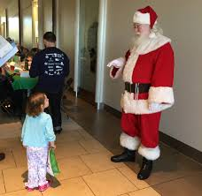 northgate mall hosts pajama with santa times free press