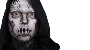 death eater harry potter face painting youtube