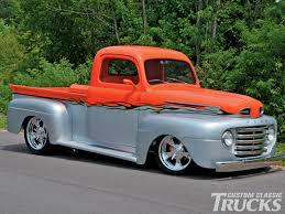Classic Ford Diesel Truck - the ford f 100 supernats rod network