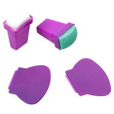 amazon com bmc 4pc silicone and rubber stamper plastic scraper