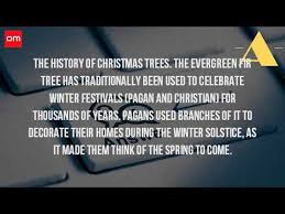 how did the tradition of the tree start