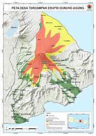 Bali Indonesia Map Alert Level For Agung Volcano Raised To 3 Of 4 Bali Indonesia