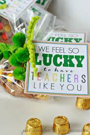 Halloween Teacher Gifts by St Patrick U0027s Day Gifts For Teachers Eighteen25