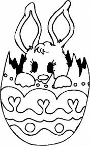 coloring cartoon easter face 13 cute easter coloring pages