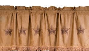 texas rustic home decor lone star valance texas home decor