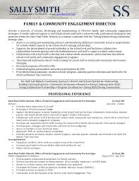 Sample Director Of Operations Resume by Resume Sample Director Of Community Involvement