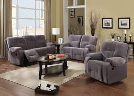 Gray Recliner Sofa Sofas Xrmbinfo Sofas Center New Sofa And Loveseat Set Fabric