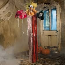 scary decorations props large hanging clown led