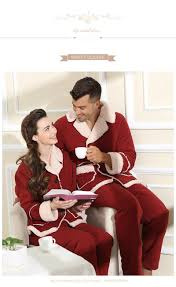 high quality matching christmas pajamas for couples plus size
