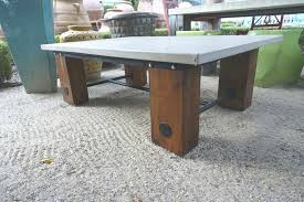 concrete wood table top best wood for table top e tables top concrete and wood e table
