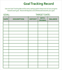 goal setting worksheets budgeting excel templates