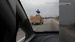 What Are The Two Flags In The Oval Office Trump Flag Spotted On Military Convoy Cnnpolitics