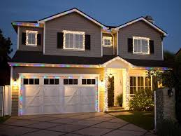 Christmas Decoration Outside Home by Garage Door Christmas Decorating Ideas Elegant And Unusual Door