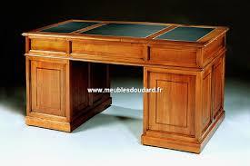 bureau merisier bureau haut de gamme en merisier ref 530n