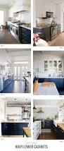Two Toned Painted Kitchen Cabinets Best 25 Blue White Kitchens Ideas On Pinterest Blue Country