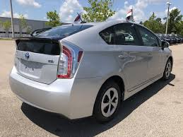 certified pre owned 2015 toyota prius std hatchback in tallahassee