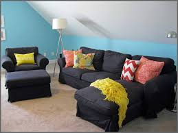 Floor Cushion Ikea Bedroom Appealing Black Ikea Throw Pillows For Exciting Living