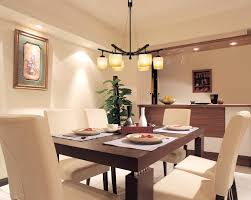 apartment modern apartment dining room idea table pendant lamp
