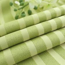 Lime Green Striped Curtains Green Striped Jacquard Linen Chic Modern Curtains