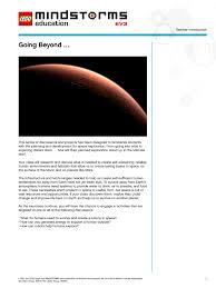 mindstorms ev3 space challenge u2013 support u2013 lego education