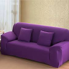 Couch Emoji by Purple 4 Size Stretch Fit Sofa Cover Couch Easy Removable