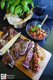 cuisiner une entrecote recette plancha entrecote de bœuf et salsa de tomates