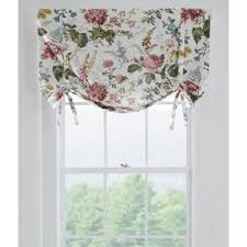 Tie Up Valance Curtains Country Curtains Cottage Garden Tie Up Valance 26 W Polyvore
