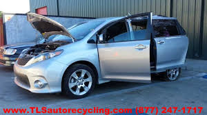 parting out 2013 toyota sienna stock 3110bl tls auto recycling