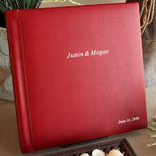 personalized leather photo album custom made wedding albums personalized wedding photo books