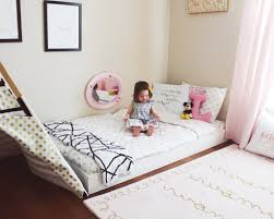 bed on the floor montessori bedroom ideas for toddlers iammyownwife com
