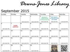 november jones calendar november 2015 library calendar down jones library programming
