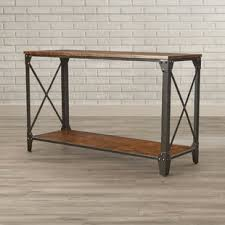 house of hton console table extended length console table wayfair