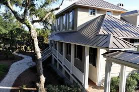 atlanta bronze metal roof spaces traditional with boardwalk