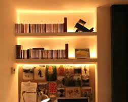 Bookcase Lamps Led Lights For Shelves With Strip Light Shelf Google Search Desing