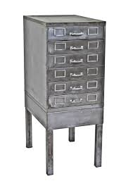 Vintage Industrial File Cabinet Refinished C 1950 U0027s American Antique Industrial Factory Office