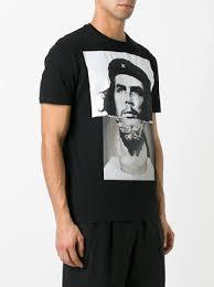 che guevara t shirt neil barrett che guevara statue print t shirt 300 buy ss17