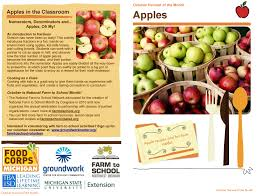 food of the month farm to school farm to school resources built for teachers food