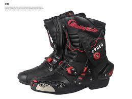 motocross bike boots men motorcycle boots motocross racing speed motorbike boots shoes