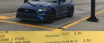 ford mustang gt weight 2018 ford mustang gt 10 speed automatic weight sits at