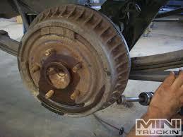chevy s10 rear disc brake conversion bye bye to dumb drums