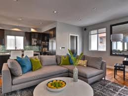 Living Rooms With Gray Sofas Living Rooms And Kitchens Using Gray Home Decoration Ideas