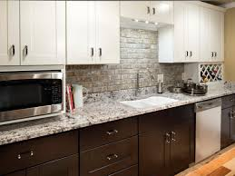 granite countertop white cabinets with grey walls circle
