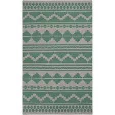 Emerald Green Area Rug Green Southwestern Area Rugs Rugs The Home Depot