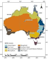 map of australia with cities and states climate change information for australia csiro