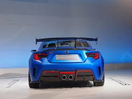 subaru sports car subaru finally gives brz the muscle it deserves blue paint