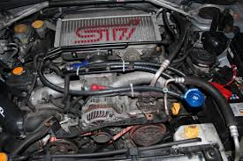 worrying oil in intercooler and throttle subaru forester