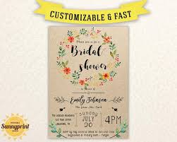 bridal shower invitation templates bridal shower invites bridal shower vintage bridal shower