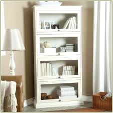 Vintage Bookcase With Glass Doors Antique Bookcase Glass Doors Captivating White Bookcases With
